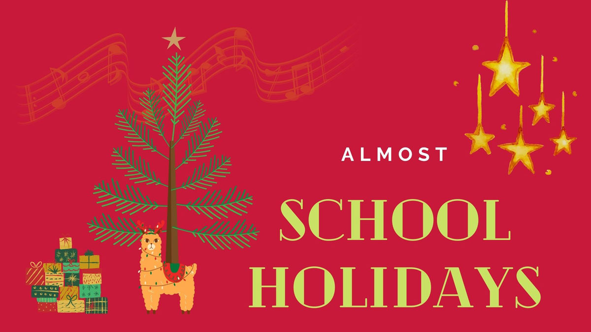 t4 school holidays almost canva